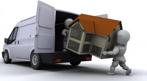 house-being-loaded-into-a-van